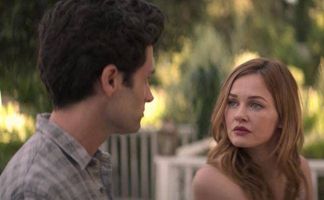 Joe and Candace in 'YOU' Season 2