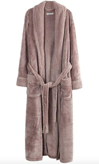 Richie House Women's Fleece Bathrobe Robe