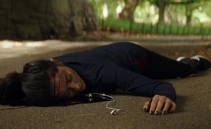 Peach (Shay Mitchell) in 'YOU' Season 1