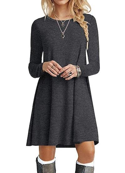 POPYOUNG Women's Long Sleeve T Shirt