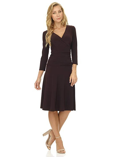 Rekucci Women's Fit-and-Flare Dress