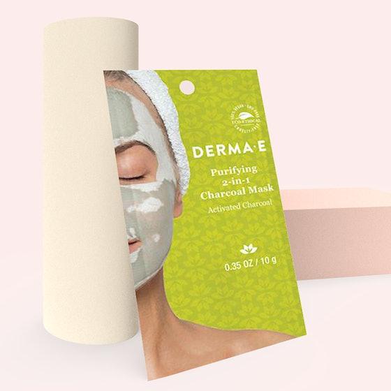 Derma E Purifying 2-in-1 Charcoal Sheet Mask
