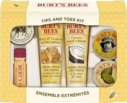 Burt's Bees Tips and Toes Kit Gift Set (6 Pieces)