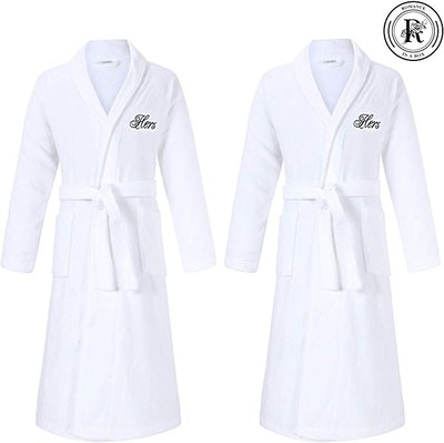 Romance Helpers Couple's Robes