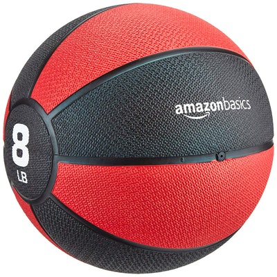 AmazonBasics Rubber Medicine Ball