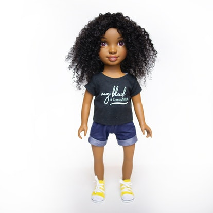 Healthy Roots' Zoe Doll.