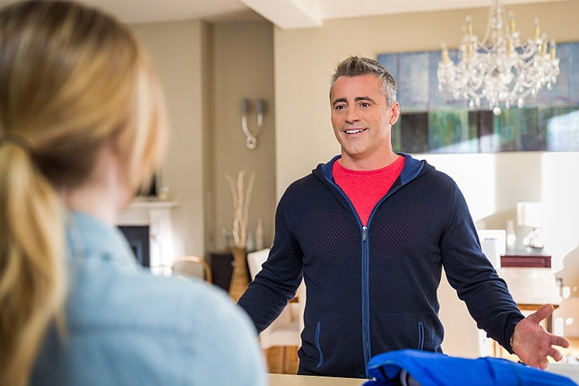 Matt LeBlanc played a fictional version of himself on the Showtime series 'Episodes.'