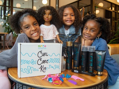 Healthy Roots Dolls teaches young kids about natural hair care.