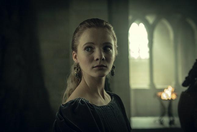 Freya Allan stars in Netflix's The Witcher.