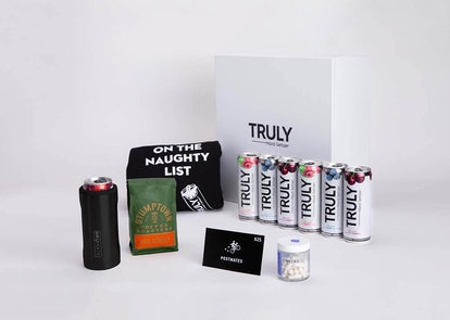 Truly's Survive The Holidays Gift Box even has a Truly holiday sweater.
