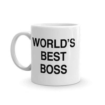 World's Best Boss Funny Coffee Mug