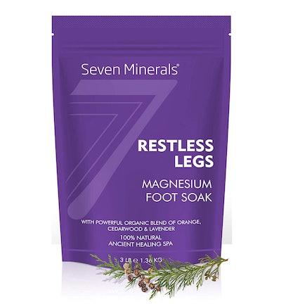 Seven Minerals Restless Legs Magnesium Foot Soak