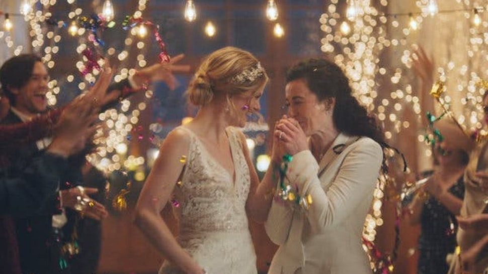 Hallmark Issued A Statement About Pulling Ads With A Same-Sex Couple