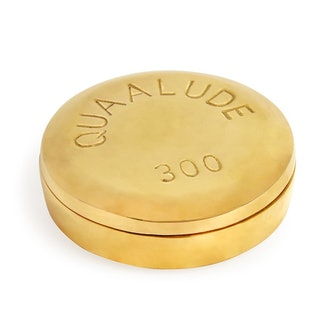 Quaalude Pill Box by Jonathan Adler