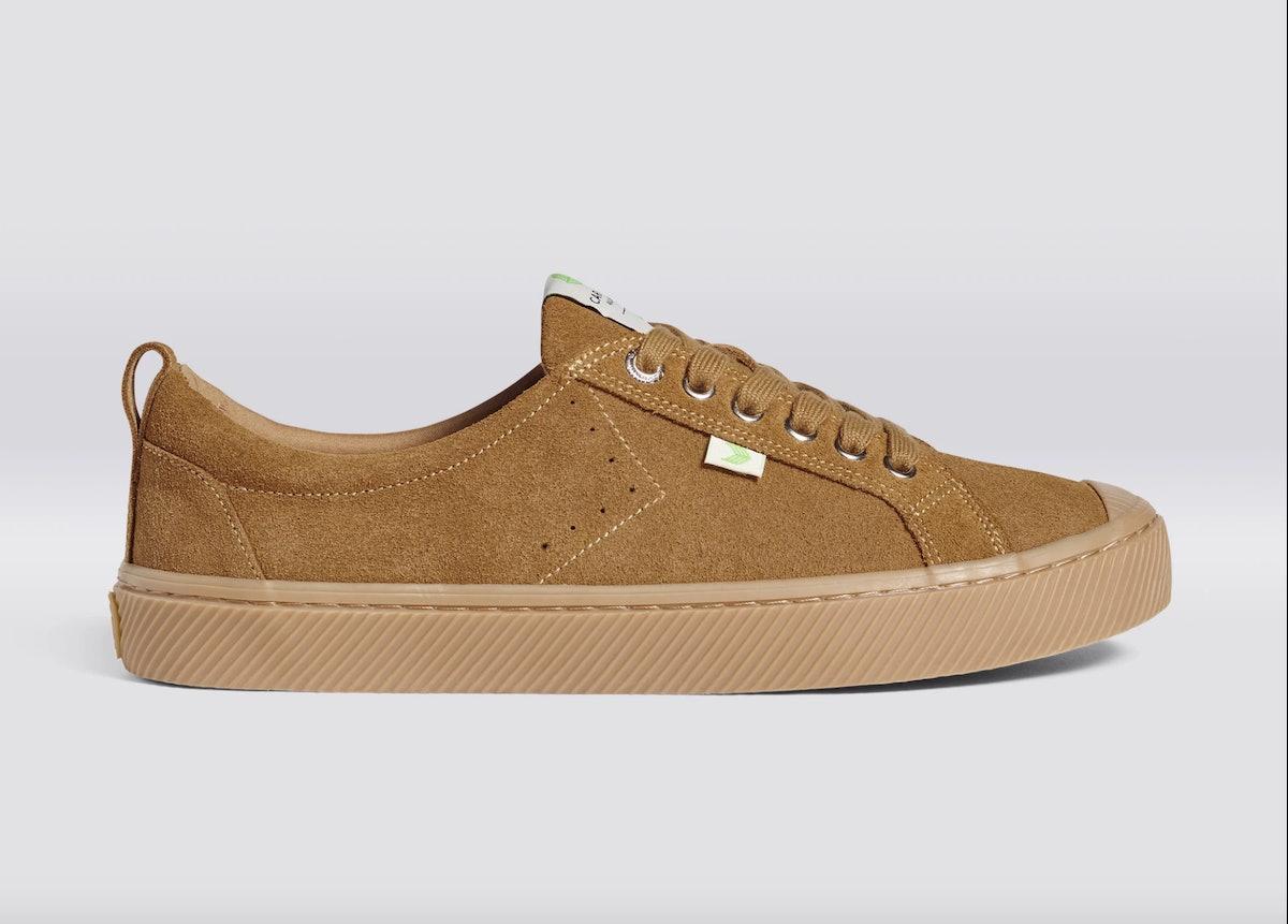OCA Low All Camel Suede Sneaker