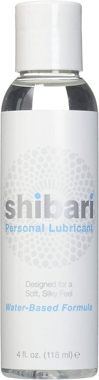 Shibari Personal Water-Based Lubricant (4 oz)