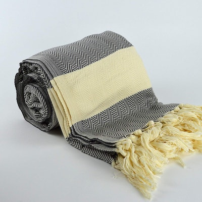 Nature Is Gift Large Turkish Blanket