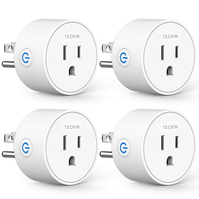 T TECKIN Smart Plugs (4-Pack)