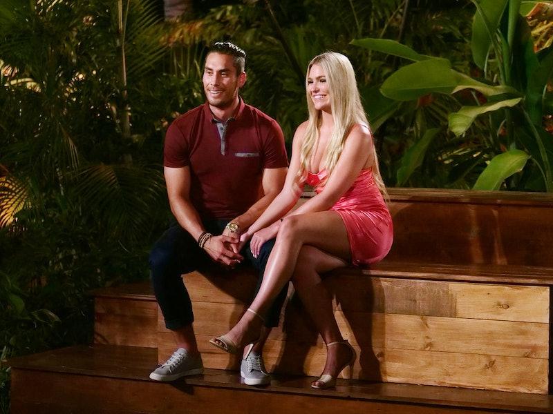David and Toneata at the Temptation Island Season 2 final bonfire