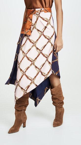 Saddle Print Skirt