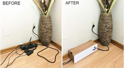 DMoose Cable Management Box Organizer for Cords