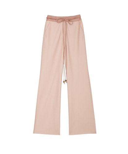 Chimo - Vegan Leather Belted Pants