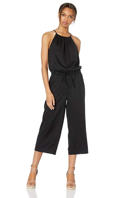 Daily Ritual Women's Tencel Halter Jumpsuit