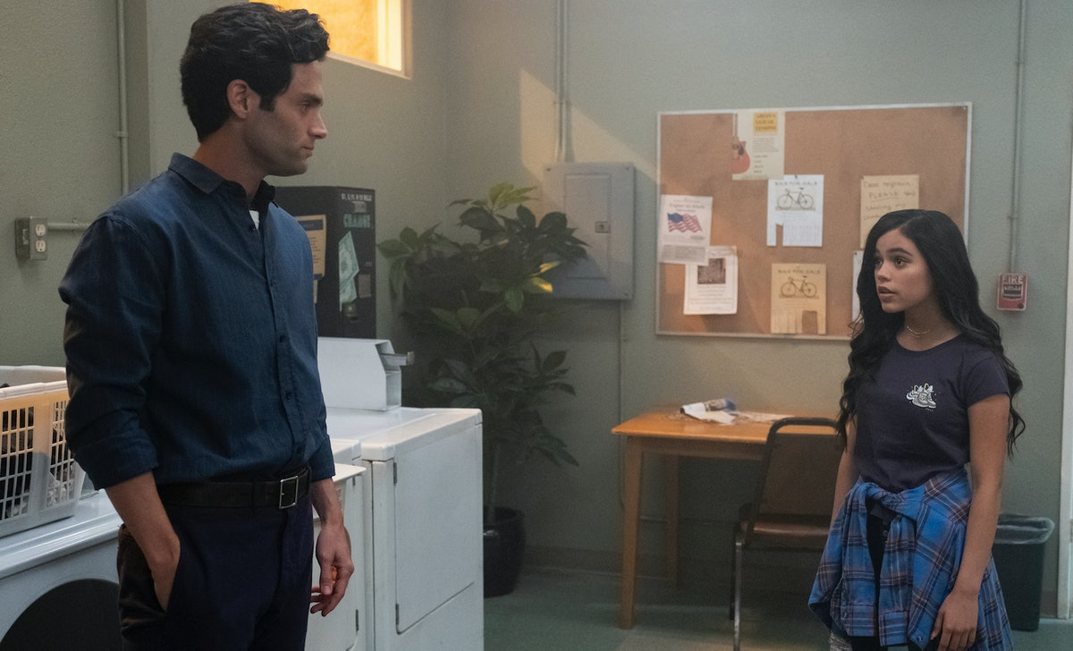 Joe and Ellie's relationship is fraught at the end of 'You' Season 2.
