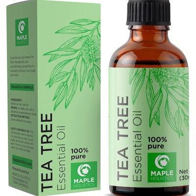 Maple Holistics 100% Pure Tea Tree Natural Essential Oil (1 Oz.)