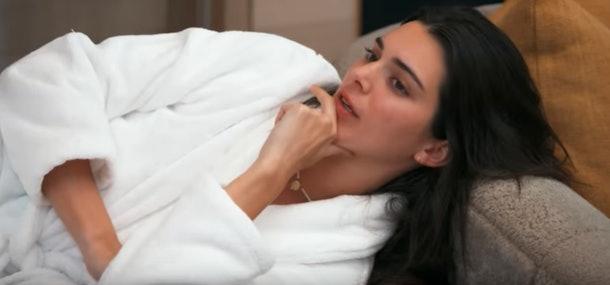 A screenshot from the Kardashians' family bonding vacation video.