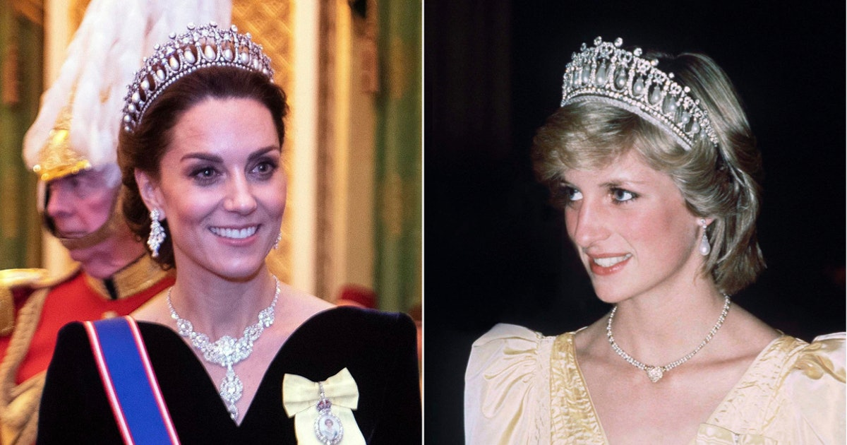 Kate Middleton Wore Princess Diana's Tiara To Attend An Important Royal Event