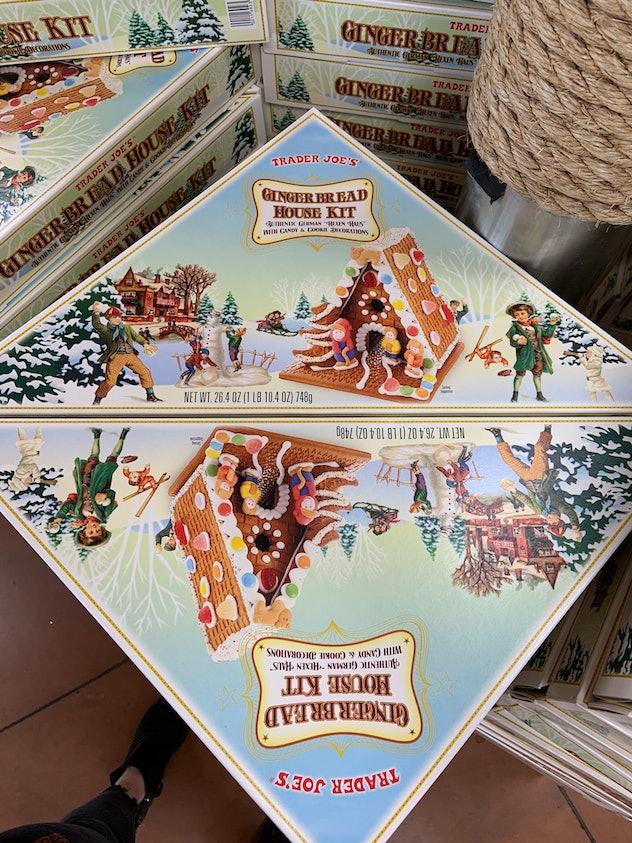 best trader joe's holiday desserts: gingerbread house kit