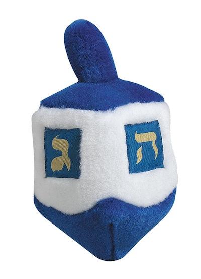 Multipet Dreidel Hanukkah Plush Singing Dog Toy
