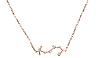 PAVOI 14K Gold-Plated Zodiac Necklace