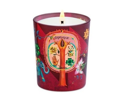 Lucky Flowers Holiday Candle