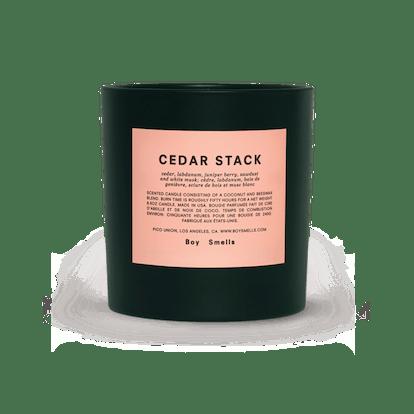 Holiday Cedar Stack