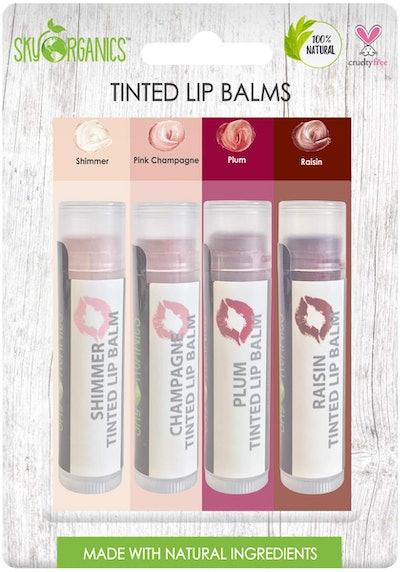 Sky Organics Lip Balm (4-Pack)