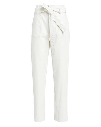 Castile Vegan Leather Pants