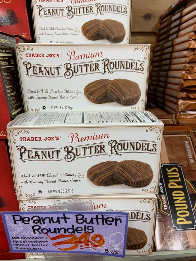 best trader joe's holiday desserts: peanut butter roundels