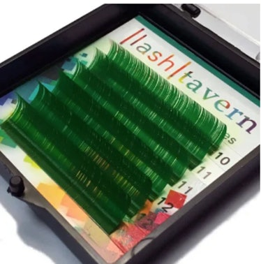 Lash Tavern Green Prism Eyelash Extensions