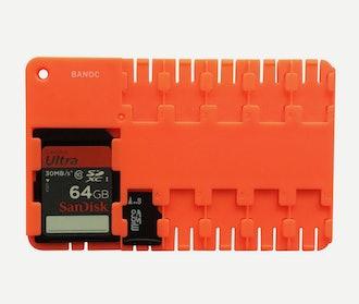 BANDC microSD organizer