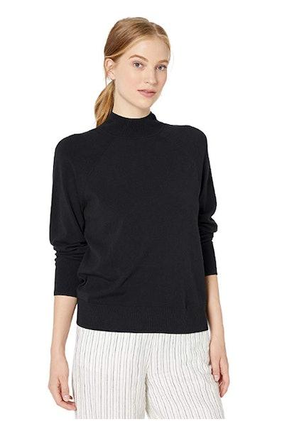 Daily Ritual Women's Fine Gauge Pullover Sweater