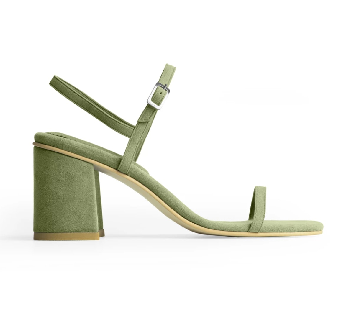 The Simple Sandal in Vert