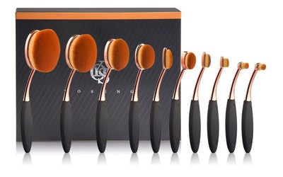Yoseng 10-Piece Makeup Brush Set