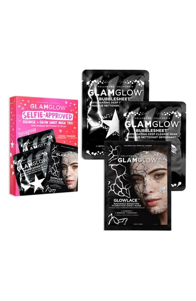 Selfie-Approved Cleanse + Glow Sheet Mask Trio
