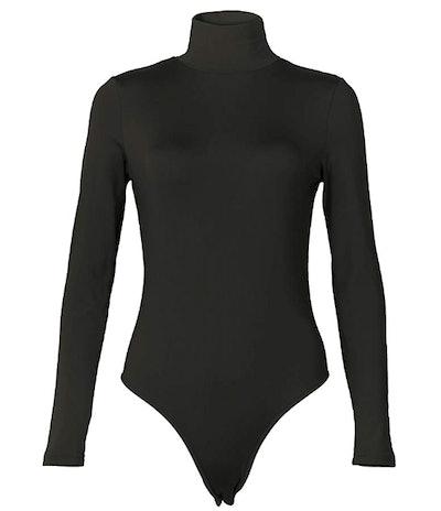 PALINDA Long-Sleeved, Turtleneck Bodysuit