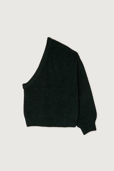 One Shoulder Sweater 3989