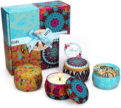 HELLY Scented Candles Gift Set (8-Pack)