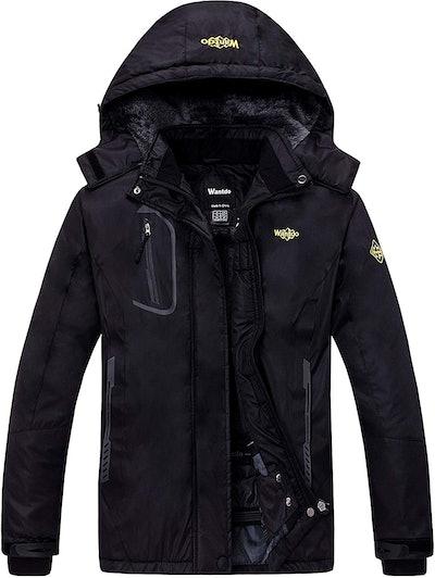 Wantdo Women's Mountain Waterproof Ski Coat