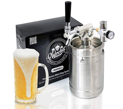 Pressurized Beer Mini Keg System
